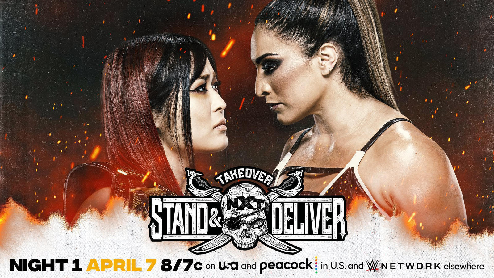 """Final Card For Tonight's """"Takeover: Stand & Deliver"""""""