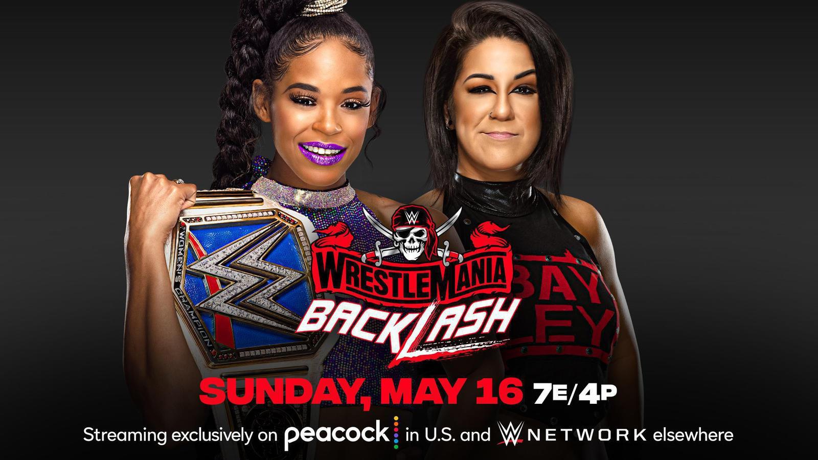Bianca Belair vs Bayley Set For WrestleMania Backlash