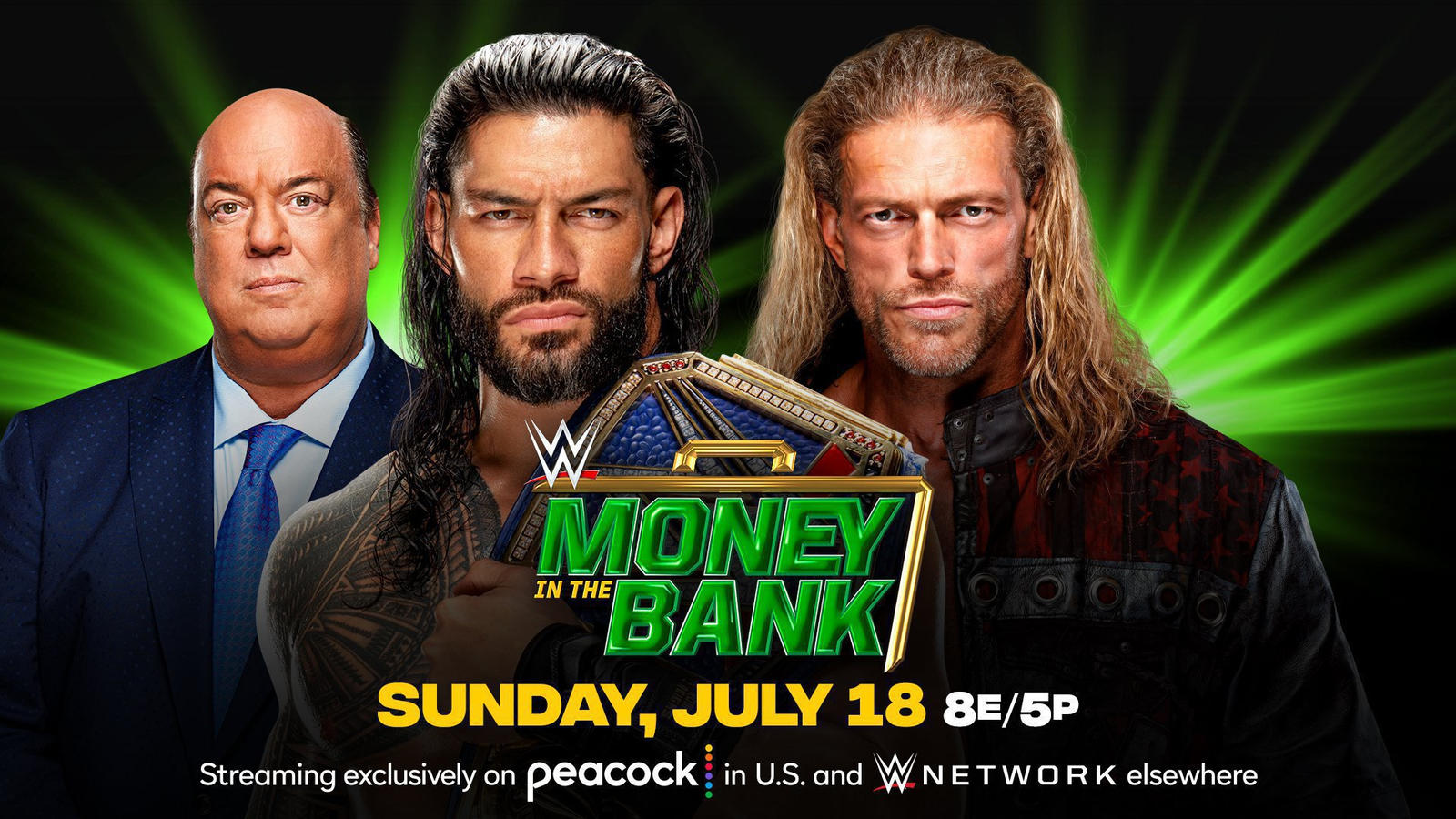 Roman Reigns On Facing Edge At WWE Money In The Bank