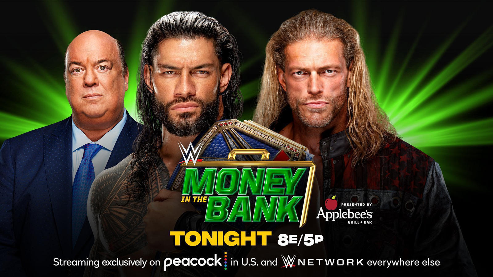 Roman Reigns And Edge Hype WWE Money In The Bank Match