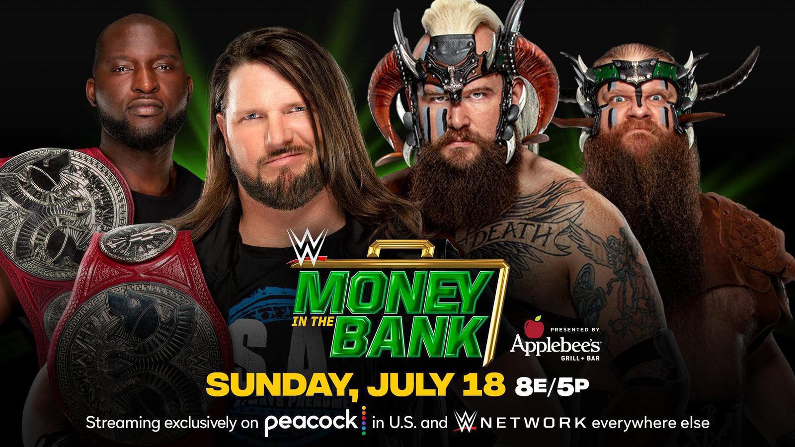 Money In The Bank 2021: WWE Announces New Title Match And Ladder Match Participant 2