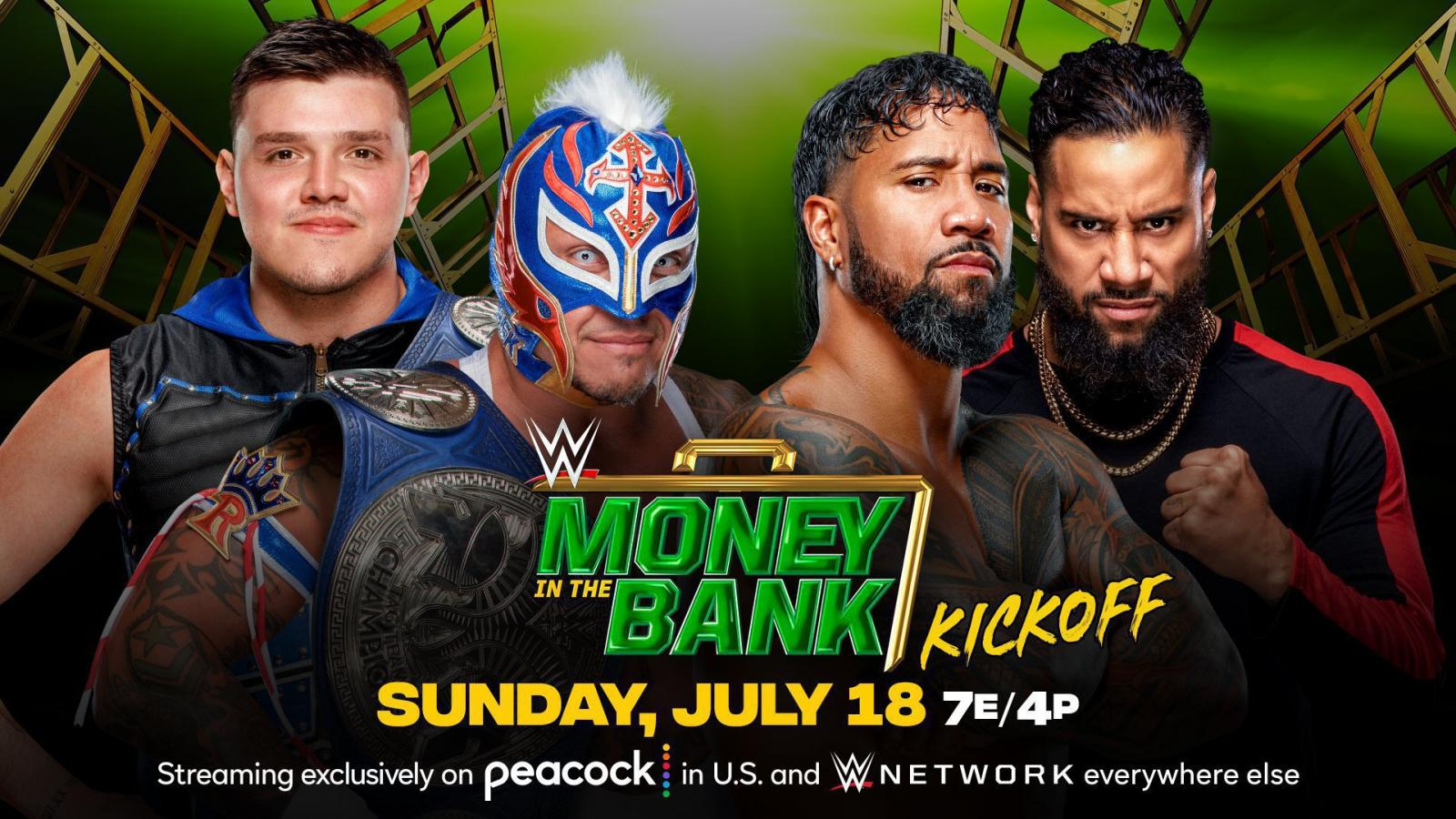 Title Match Announce For WWE Money In The Bank Kickoff