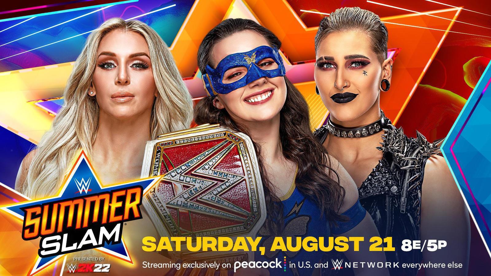 WWE Summerslam 2021: Triple Threat Championship Match Announced 1