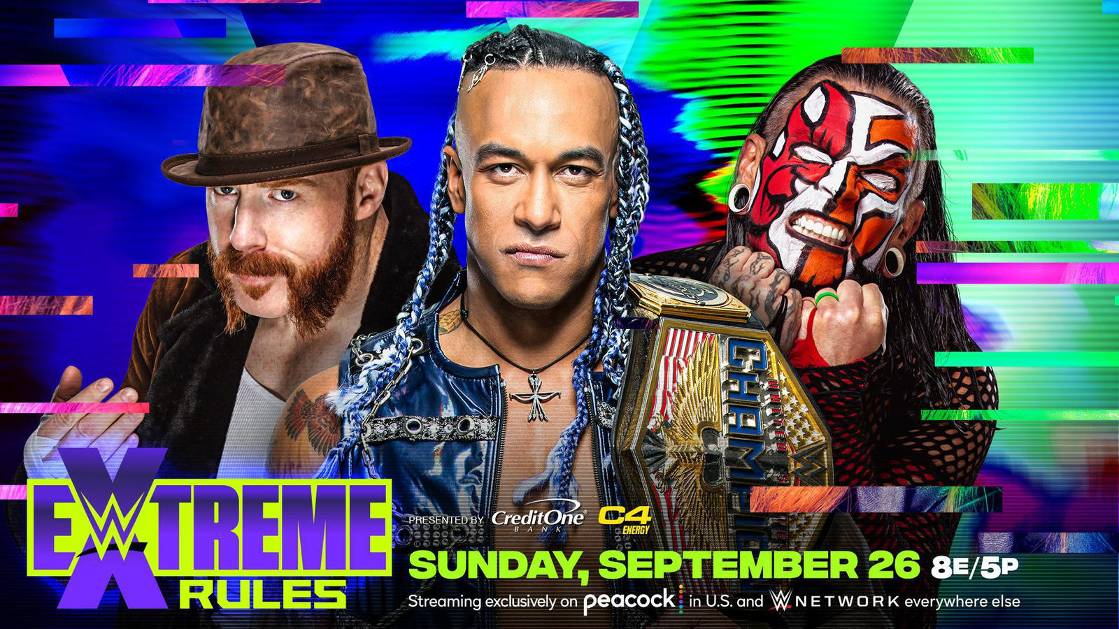 US Title Match At Extreme Rules Now A Triple Threat