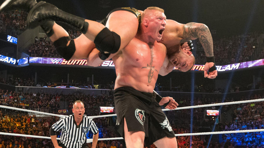 Summerslam Flashback-Brock Lesnar TKO-ing Randy Orton Created Backstage Chaos 2