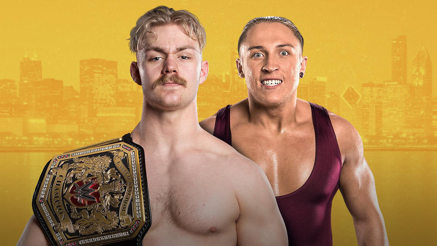 Image result for tyler bate vs pete dunne nxt takeover chicago