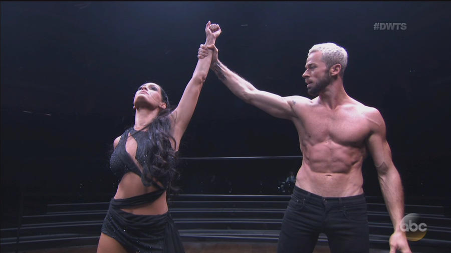 """Fearless Nikki brings the fight to the """"Dancing with the"""