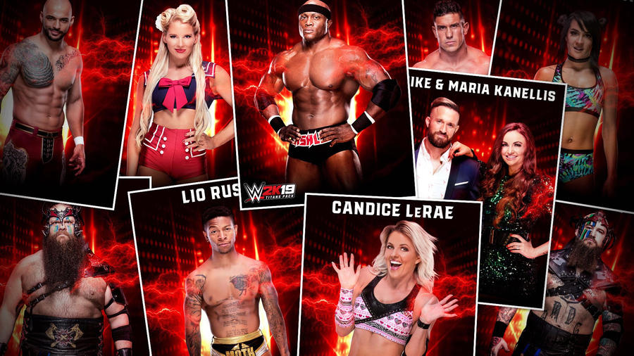 By Photo Congress || Wwe 2k19 Divas Roster