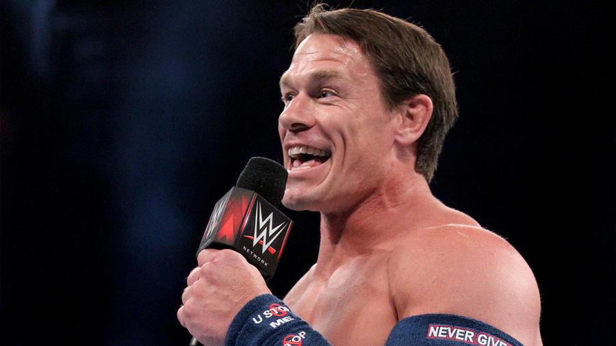 John Cenas New Haircut Causes A Social Media Stir During Wwe Super