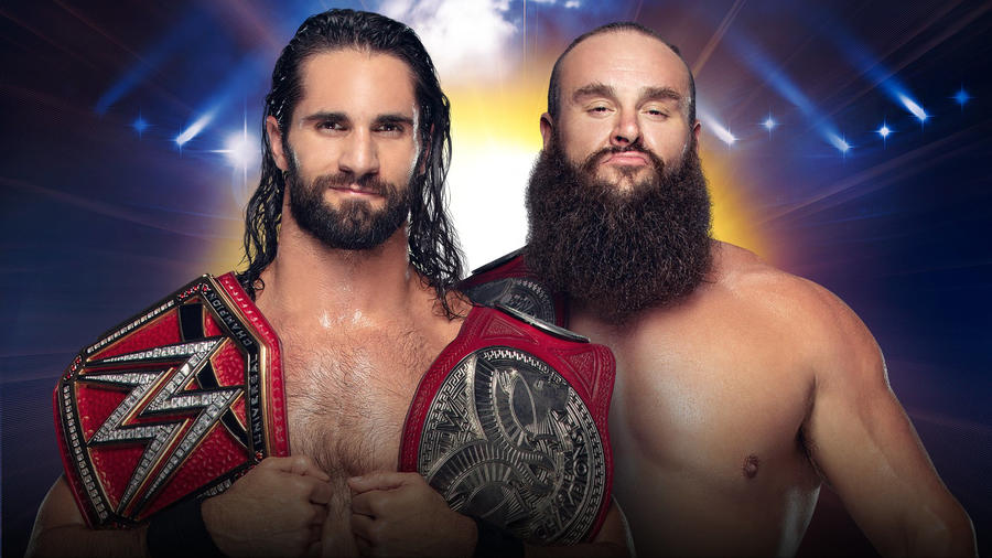 Rollins defends against Strowman at Clash of Champions