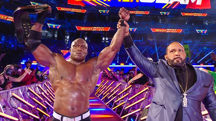 Spoiler On Big E's WWE Money In The Bank 2021 Contract Cash-In 16