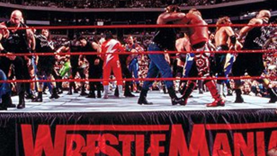 Image result for 15 battle royal wrestlemania 14