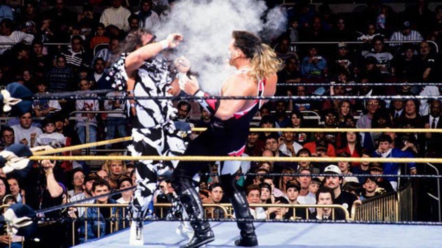 WWE 2K14. Razor Ramon vs. Shawn Michaels. WrestleMania 10 (1994 ...