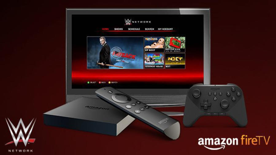 WWE Network now available on Amazon Fire TV   WWE