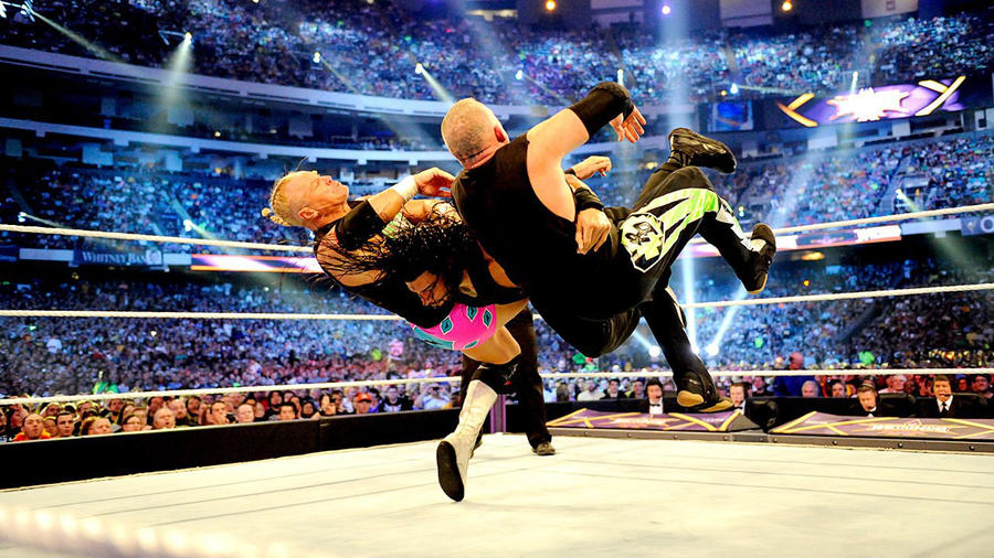 Resultado de imagem para the shield vs new age outlaws and kane