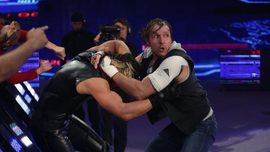 Image result for Battleground 2014 Seth Rollins vs Dean Ambrose
