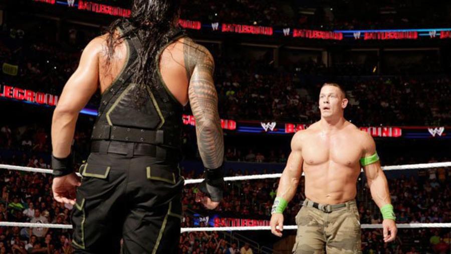 Image result for Battleground 2014 WWE World Heavyweight Championship