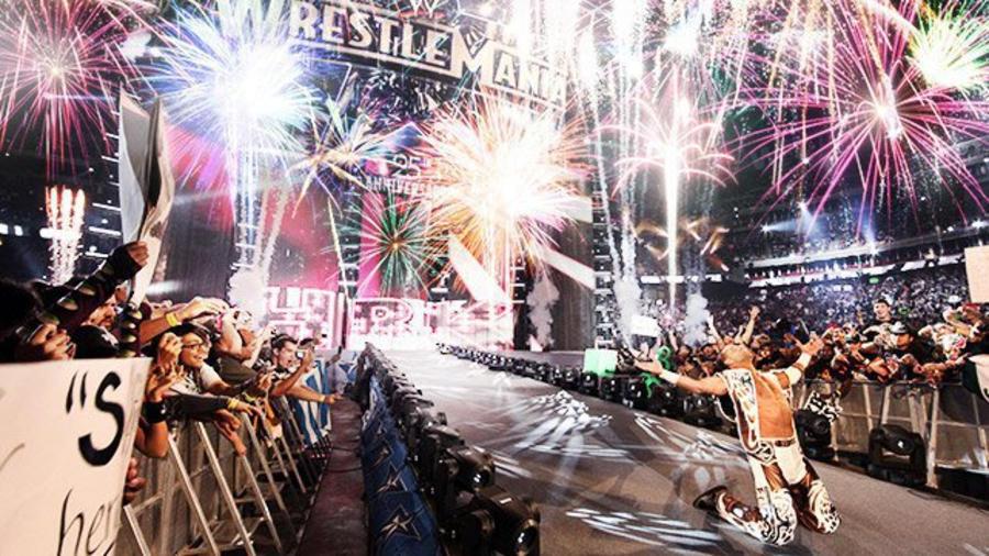 Shawn Michael's Wrestlemania Entrance