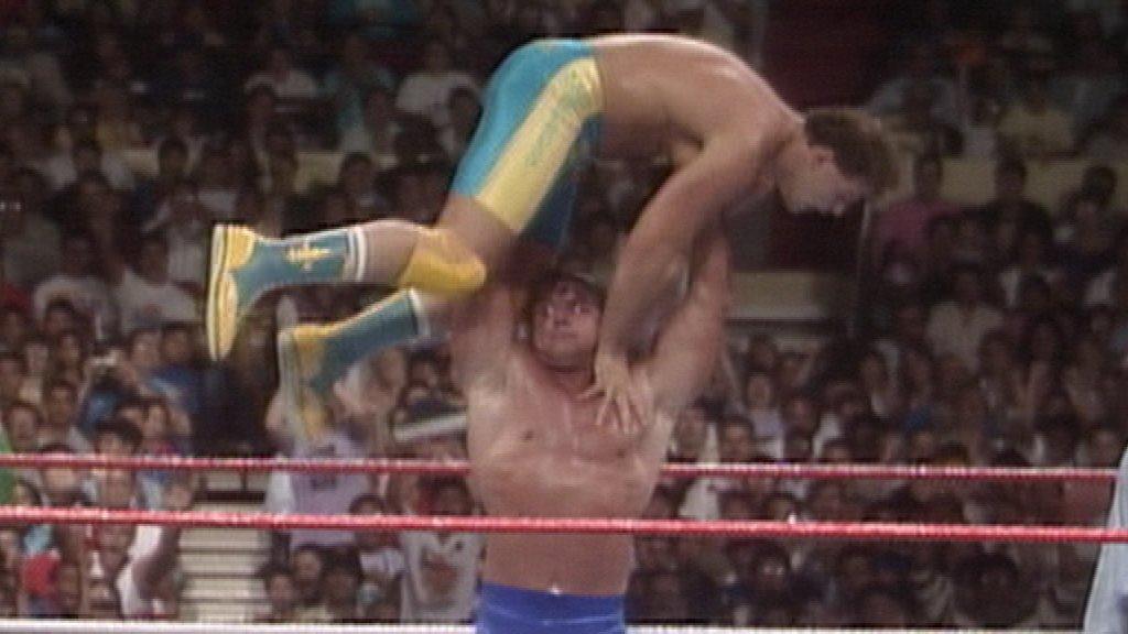 British Bulldogs vs. Fabulous Rougeaus: SummerSlam 1988