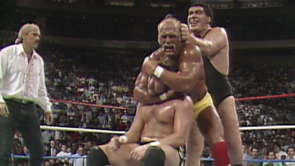 Hulk Hogan and Randy Savage vs. Ted DiBiase and Andre the Giant: SummerSlam 1988