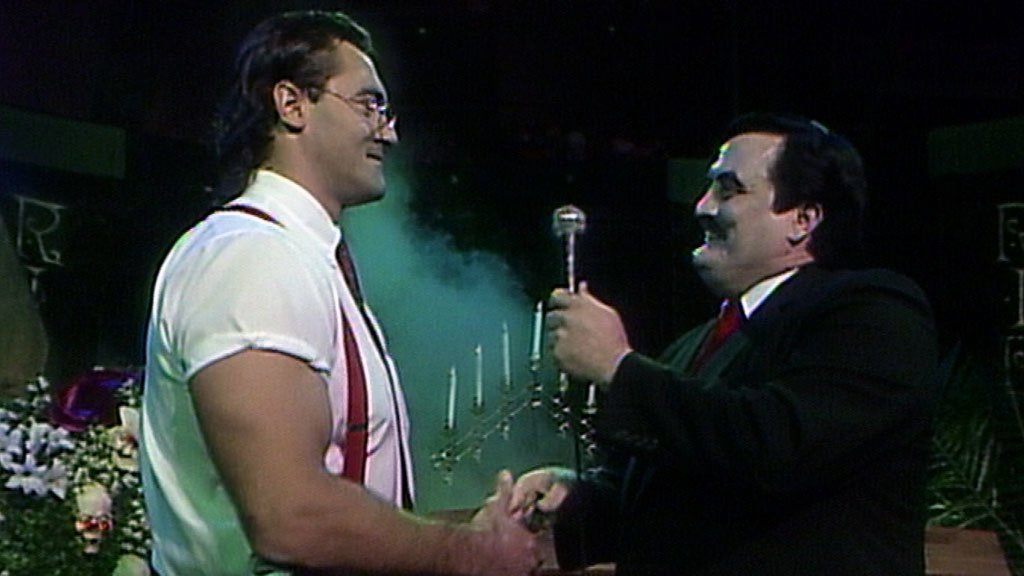 The Funeral Parlor featuring IRS: WWE Superstars, June 8, 1991