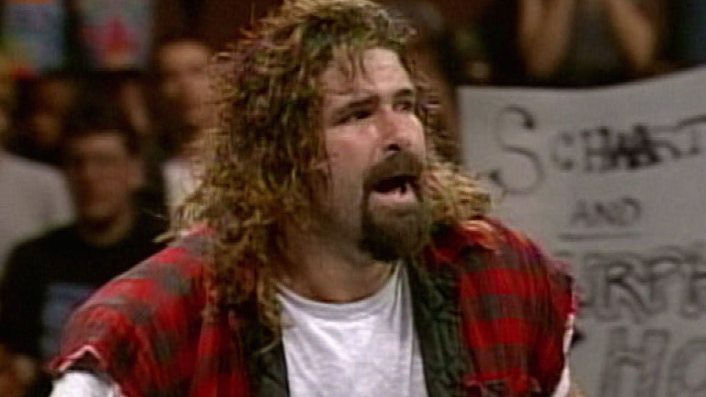 Terry Funk vs. Mick Foley: No Holds Barred, Falls Count Anywhere Match