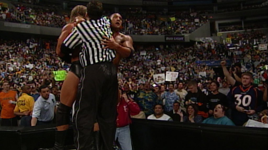The Rock vs. Triple H: Backlash 2000 - WWE Championship Match