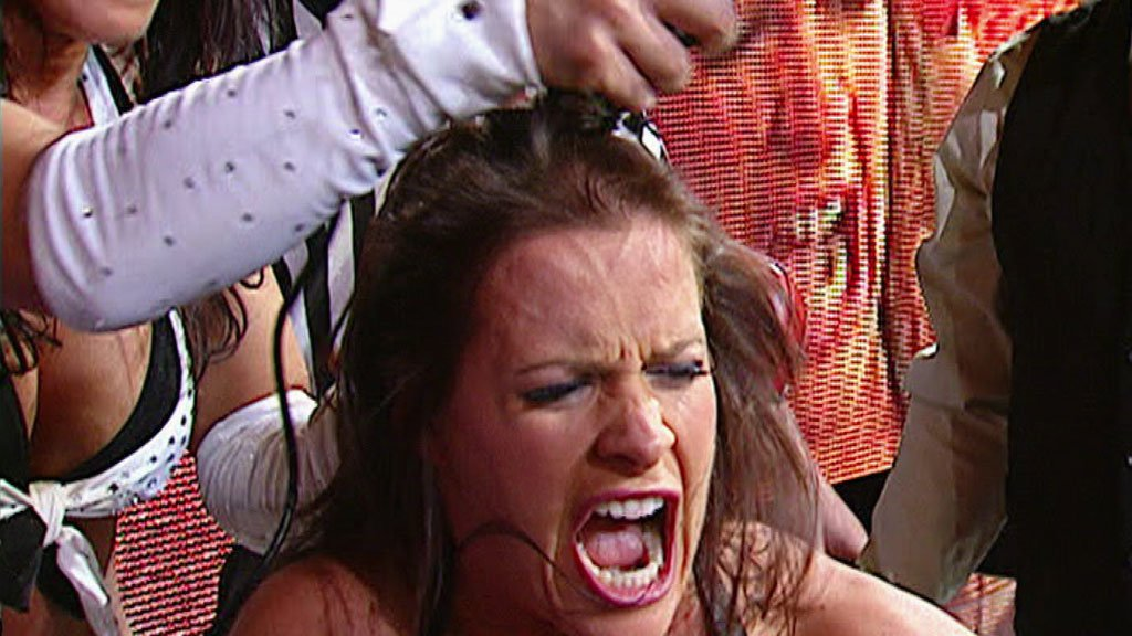 Molly holly shaved bald something is