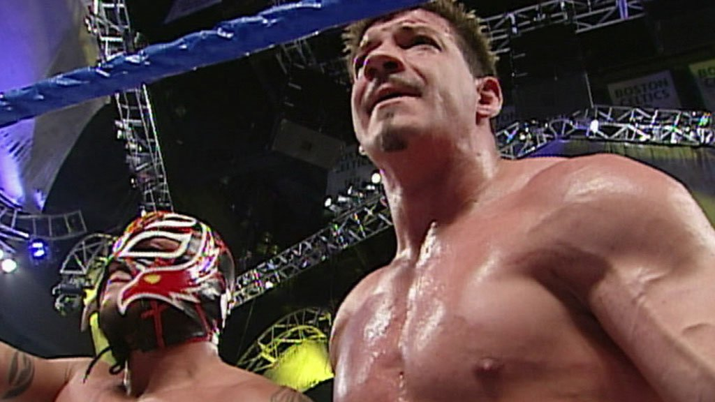The Undertaker confronts Paul Heyman after Rey Mysterio-Eddie Guerrero Match: Smackdown, March 18, 2004