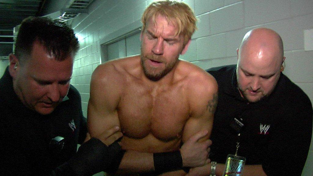 Christian Injured Last Ever WWE Match