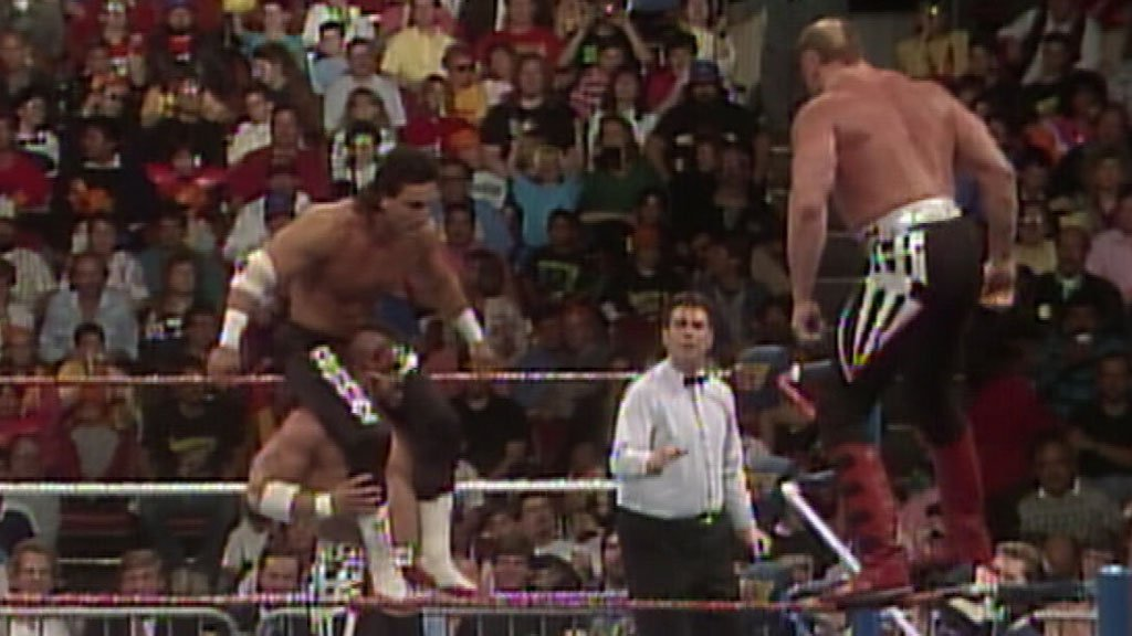 Legion of Doom vs. Power & Glory: WrestleMania VII, March 24, 1991