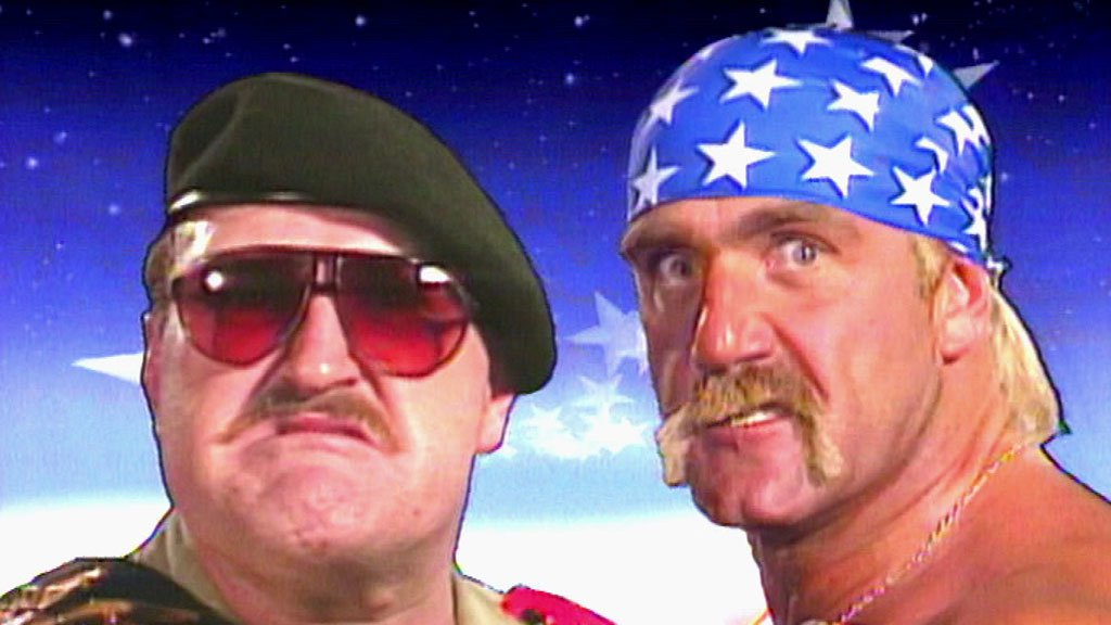 Highlights of Hulk Hogan and Sgt. Slaughter's match from WrestleMania VII