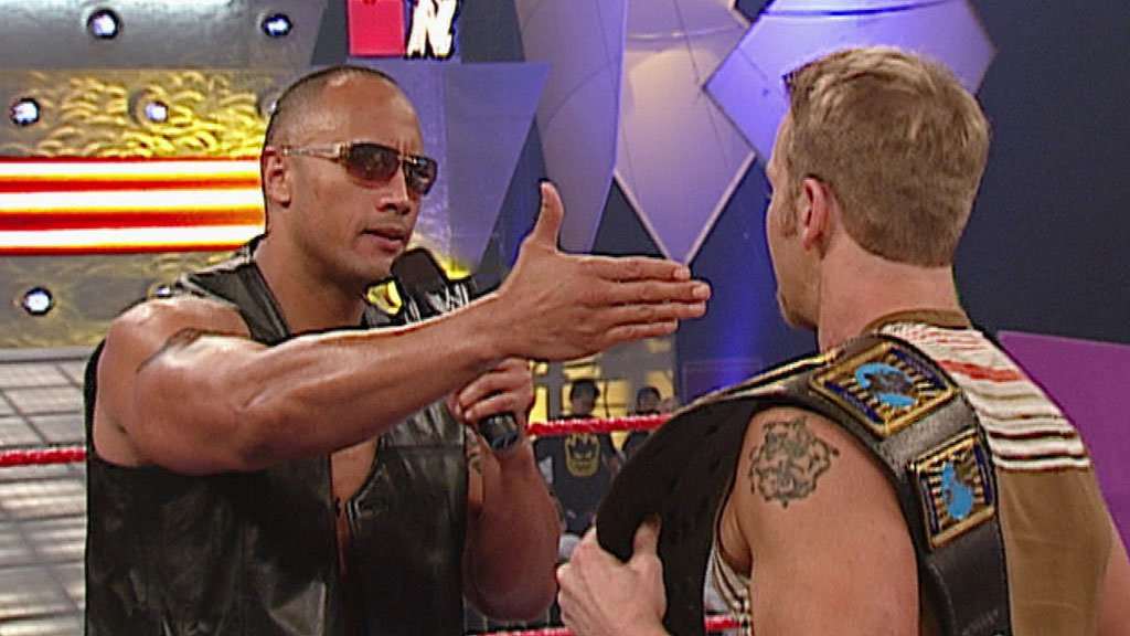 The Rock on the Highlight Reel: Raw, June 2, 2003