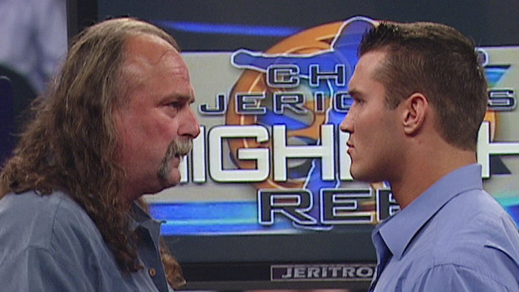 """Highlight Reel with Randy Orton and Jake """"The Snake"""" Roberts: Raw, March 14, 2005"""