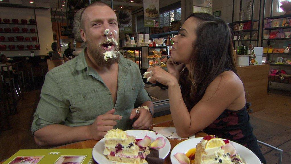 Kiss and Tell: AJ Lee rates her WWE lip-locks | WWE.com Wwe Aj Lee And Daniel Bryan Wedding