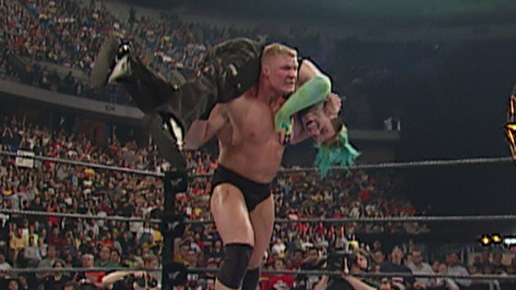 Image result for brock lesnar backlash 2002