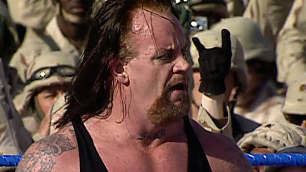 The Undertaker vs. Heidenreich: Tribute to the Troops 2004