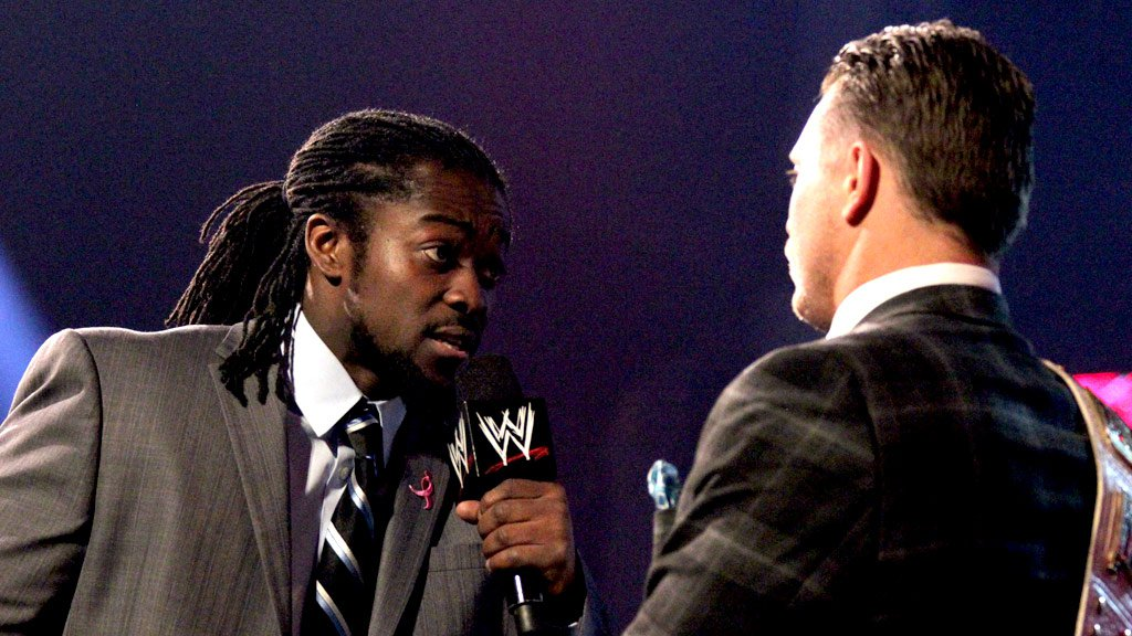Eric's Blog: Shouldn't @MikeTheMiz and @TrueKofi Kingston tell us why they hate each other?