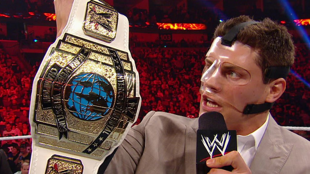 Image result for cody rhodes intercontinental