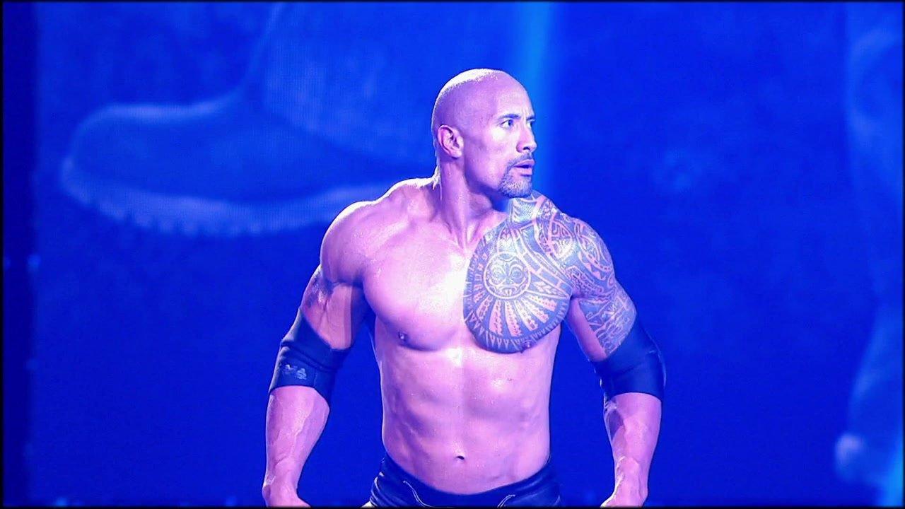 WWE The Rock 2013
