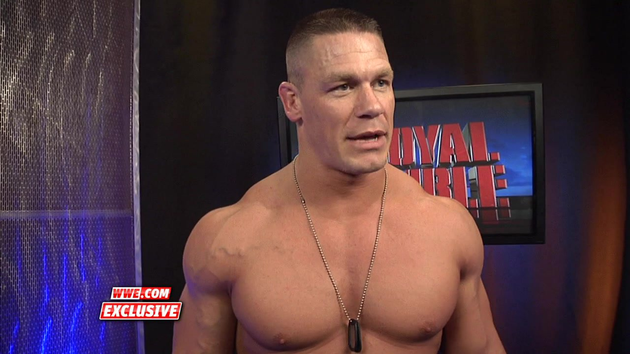 2013 wwe royal rumble match winner john cena speaks following his