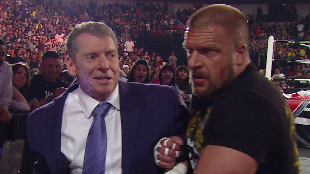 mr Mcmahon Triple h Triple h Assists mr Mcmahon
