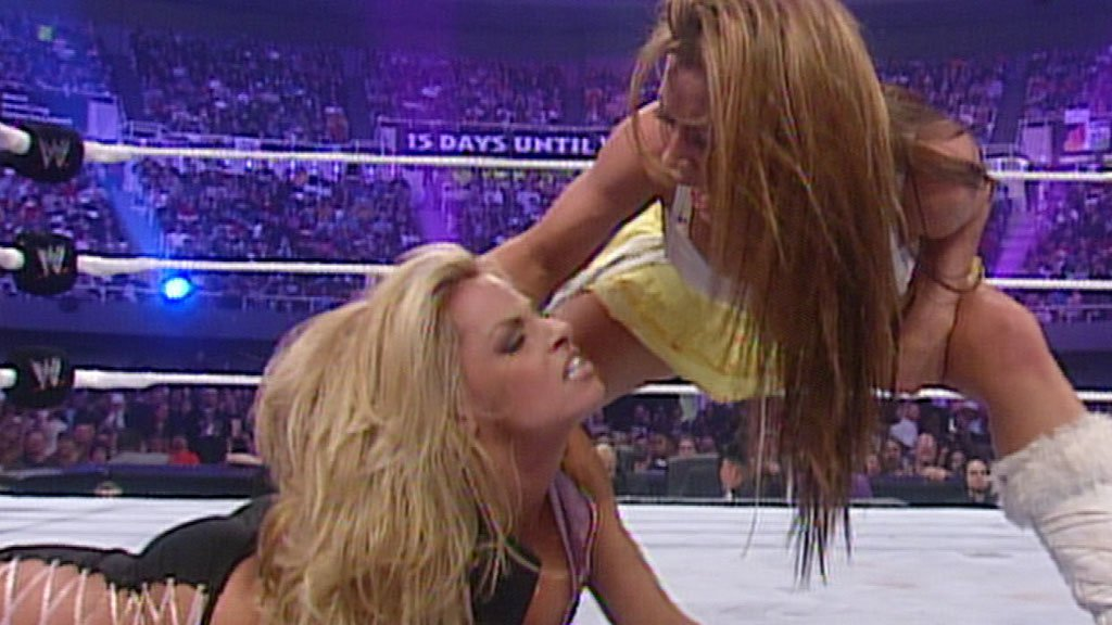 candice michelle and victoria vs trish mickie are dating