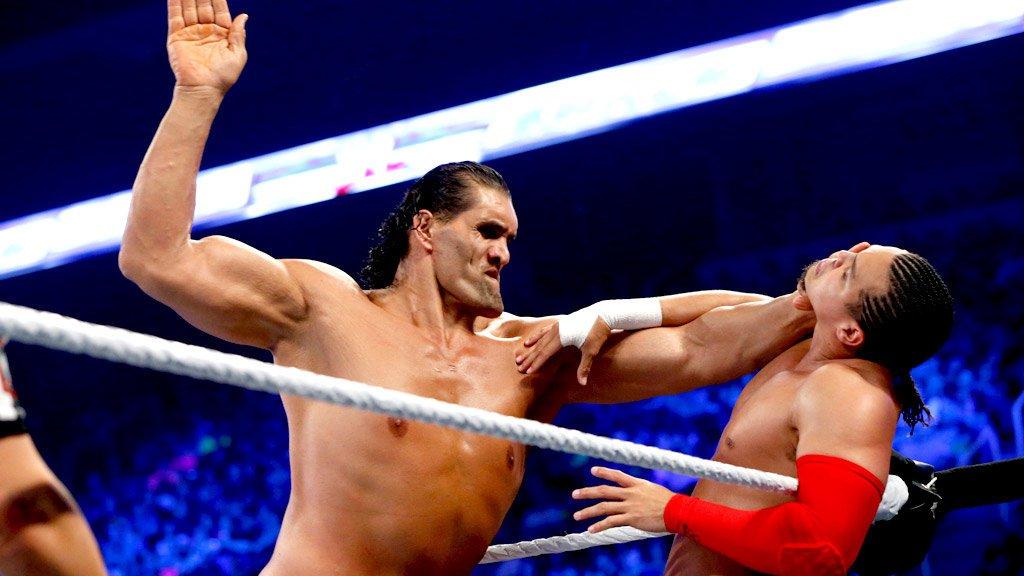 The Great Khali, Hornswoggle & Natalya vs. Epico, Primo & Rosa Mendes - Match par Equipes Mixte à Six: SmackDown, 19 avril 2013