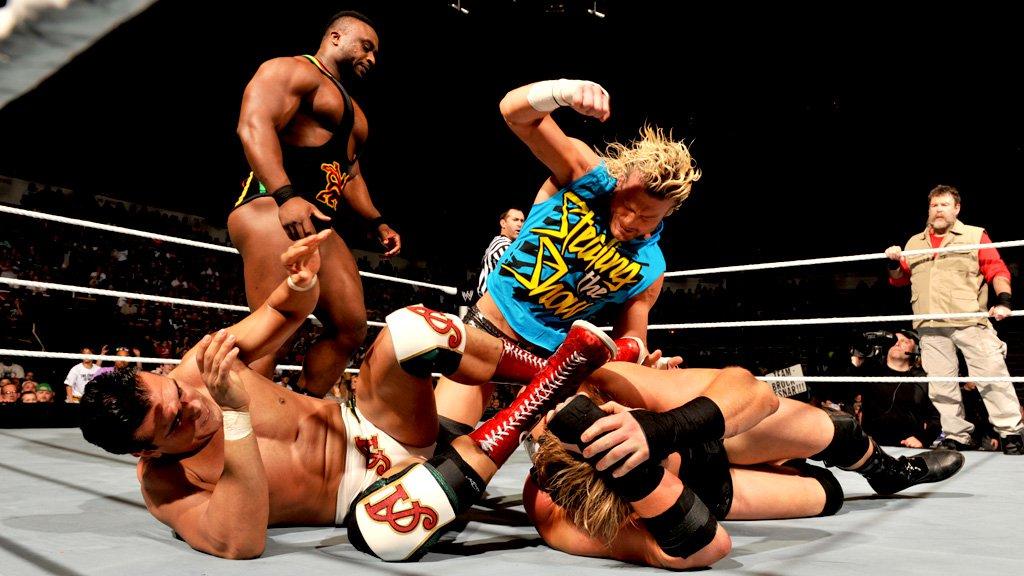 Ricardo Rodriguez & Alberto Del Rio vs. Jack Swagger & Zeb Colter: SmackDown 03.05.13