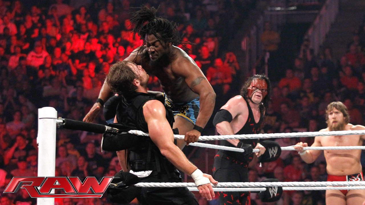 Team Hell No & Kofi Kingston vs. The Shield - Match à Six par Equipes: Raw, 20 mai 2013