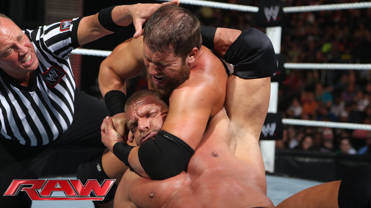 Triple H vs. Curtis Axel: Raw, 20 mai 2013