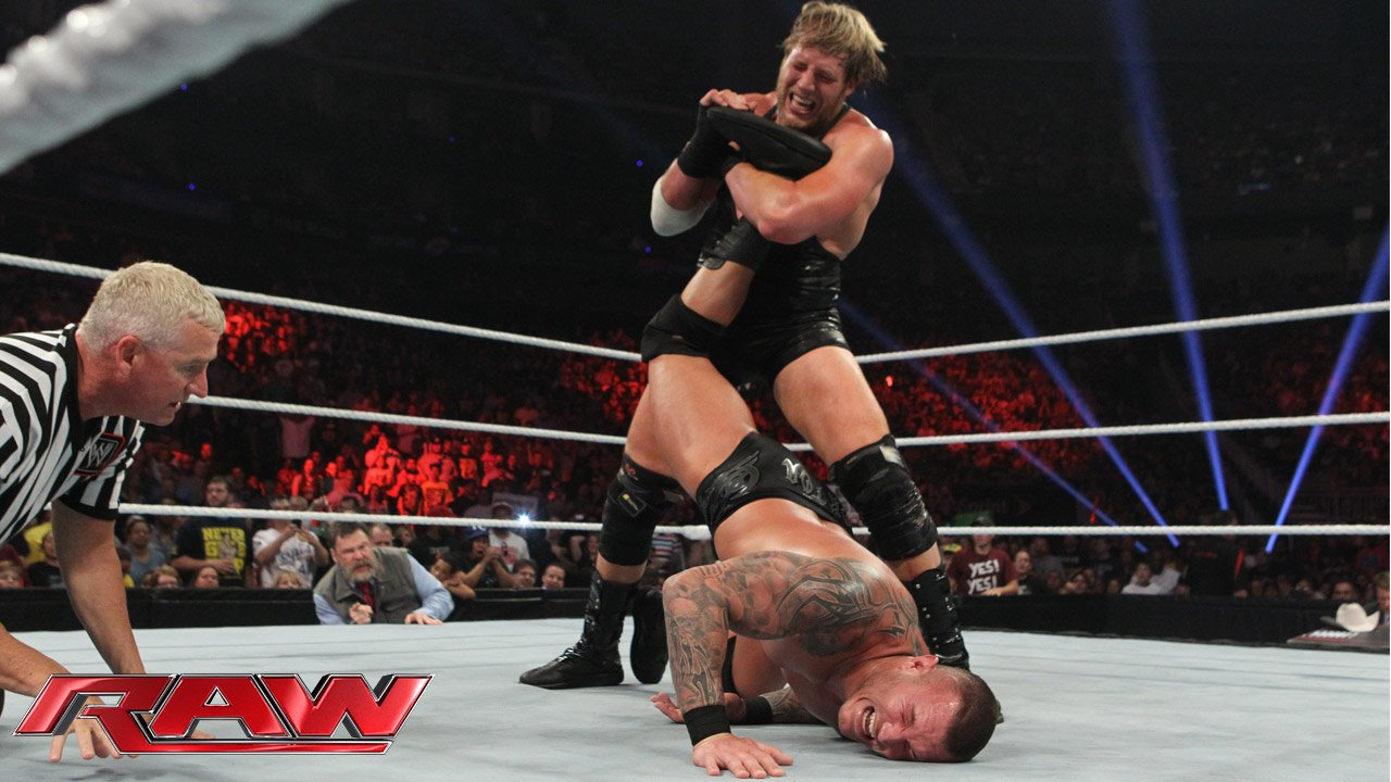 Randy Orton vs. Jack Swagger - WWE APP Vote Match: Raw, 20 mai 2013