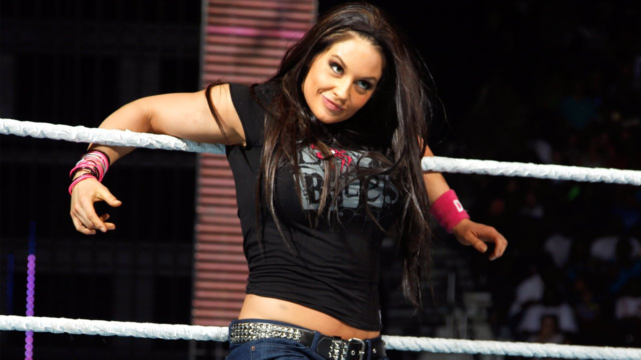 Wwe Aj Lee Sexiest Moments Kaitlyn imitated aj lee;