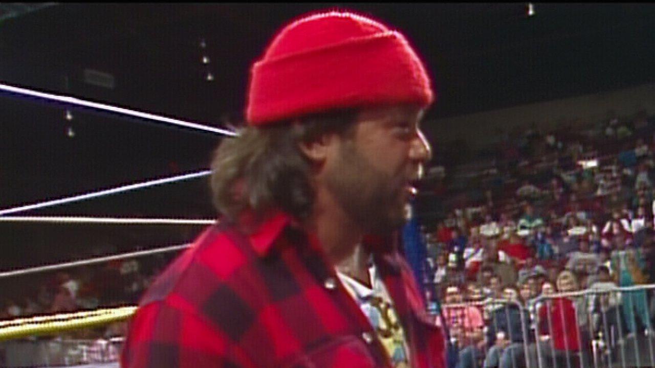 Big Josh vs. Jim Clontz - WCW Saturday Night, 7 décembre 1991